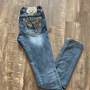 Miss me skinny jeans nice condition